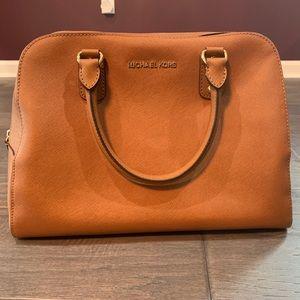 Michael Kors Saffiano leather satchel